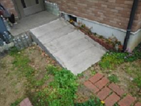 介護 保険 住宅 改修 玄関 スロープ